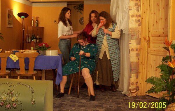 2005 Omas Geburtstag